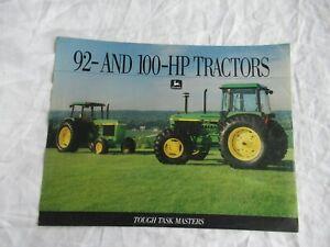 1992 John Deere 3055 3255 tractor brochure