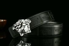 2020 NEW VJC Versace Logo Belt  black