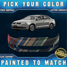 NEW Painted to Match - Front Bumper Cover for 2011-2014 Volkswagen Jetta Sedan