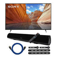Sony KD55X80J 55 Inch LED 4K UHD Smart TV with Dolby Vision HDR Bundle