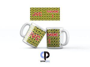 Retro Arsenal Personalised Mugs - Name & Number
