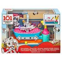 DISNEY 101 DALMATIAN STREET BRUSH & BUBBLE FIGURE PLAY SET TOY