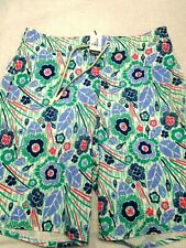 Johnnie-O West Coast Driftwood Half-Elastic Board Shorts Swim Trunks NWT M $89