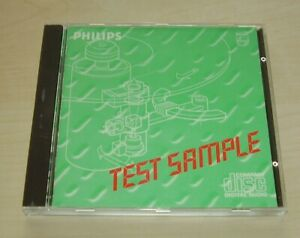 v/a PHILIPS TEST SAMPLE Nr. 5A CD 1984 West Germany Gray Face Early Pressing