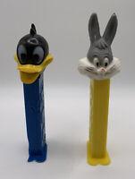 Daffy Duck & Bugs Bunny Pez Dispenser Hong Kong Vintage Lot of 2