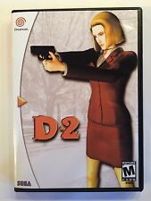 D2 - Sega Dreamcast - Replacement Case - No Game
