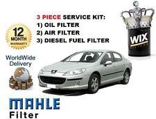 pour Peugeot 407 2.0HDi 6/2004- > NEUF 3 pièces service set