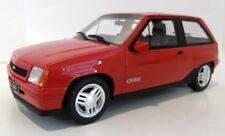 Voitures, camions et fourgons miniatures rouges en résine pour Opel