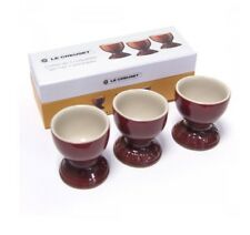 Le Creuset Set of 3 Egg Cups in Cerise(BNIB)