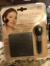 MagicMinerals by Jerome Alexander 2pc Kit - Mineral Powder Compact with Mirror,