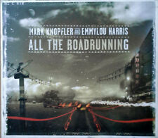 MARK KNOPFLER AND EMMYLOU HARRIS - ALL THE ROADRUNNING - 2006 CD + SLIP COVER