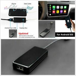 USB CarPlay Dongle Adapter Android iOS Mirror Autolink Car Navigation Music