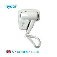 Hair Dryer - 1200W, Wall Mounted, 2 Speed Setting, Hotels, Washrooms, Bathrooms