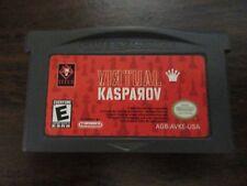 Virtual Kasparov (Nintendo Game Boy Advance, 2002) cart only copy works