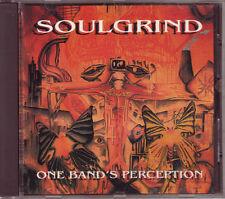 Soulgrind - One Band's Perception - EX/NM - RARE!! CD 1994