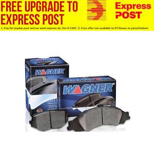 Wagner Brake Pad Set Front DB1489WB fits Kia Pregio 2.7 D (TB)