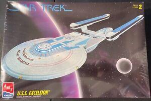 """AMT Star Trek USS Excelsior 18"""" FS NEW Model Kit 'Sullys Hobbies'"""