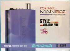 KUPA Portable Mani-Pro Passport PURPLE CONTROL BOX ONLY use w/ UPOWER & MANIPRO