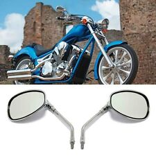 10MM CHROME MOTORCYCLE REAR VIEW SIDE MIRRORS FOR HONDA Shadow 750 VTX1300C/R/T