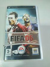 FIFA 06 Ronaldinho EA Sports - Juego PSP PlayStation Edicion Española