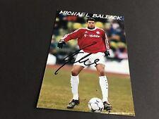 MICHAEL BALLACK FC BAYER MÜNCHEN signed Photo 10x15