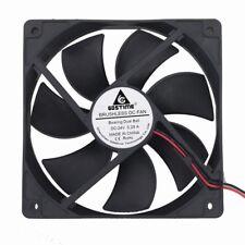 Ball Bearing High Speed 12cm 120mm 120x120x25mm 2pin 24V Brushless Cooling Fan