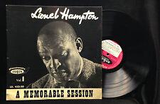 Lionel Hampton-A Memorable Session Vol 1-Vogue 452-30-FRANCE