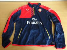 Arsenal Puma Ladies Training Football Track Top 1/4 Zip Gunners Size 14 VGC