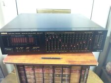 Yamaha EQ-M77 Natural Sound Stereo Graphic Equalizer With Spectrum Analyser RARE