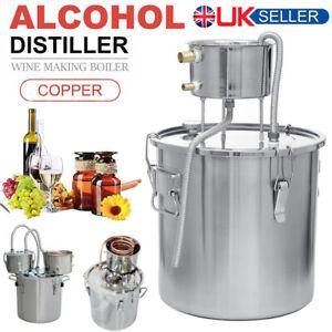 Alcohol Distiller Moonshine Still Spirits Water DIY Home Brewing 2/3/5/6/9 Gal