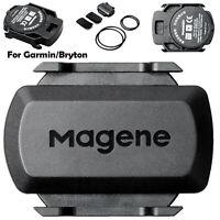 For Garmin Bryton All ANT+ Bluetooth Wireless Bike Bicycle Speed Cadence Sensor