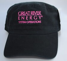 NWT GREAT RIVER ENERGY SYSTEM OPERATIONS Flat Top One Size Baseball Cap Hat