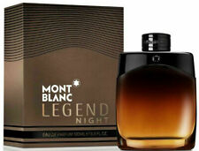 Mont Blanc Legend Night Perfume for Men by Mont Blanc 3.3 oz 100 ml EDP NEW