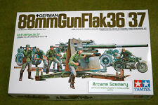 Tamiya 88mm GUN FLAK 36/37  1/35 Scale Kit 35017