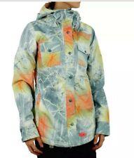 NEW Nike SB Bellevue Pushead Tie Dye Neon Print Snowboarding 10K Jacket Large L
