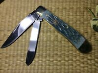 Double Blades Pocket Folding Knife Collect Fishing EDC Gifts Knife