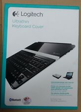 Logitech Ultrathin Keyboard cover Nordic iPad 2,3,4 black/silver magnetic clip