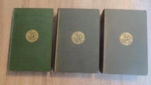 """1904-08 """"THE DYNAST - A DRAMA"""" by THOMAS hARDY - 3 VOLS COMPLETE - 1ST/2ND EDS"""