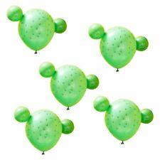 Viva La Fiesta Cactus Balloons x 5 Mexican Party