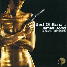 Best of Bond... James Bond [50 Years, 50 Tracks] by Various Artists (CD,...