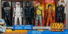 Star Wars Rebels Heroes and Villains Set of 6 12 inch Action Figures...NEW