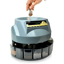 Pyle PRMC620 2-in-1 Automatic Coin Counter & Sorter Machine