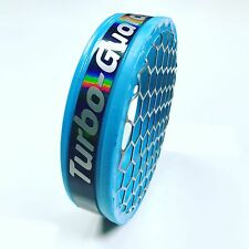"""Turbo-Guard 4"""" Inch Sky Blue Holographic 100mm for turbonetics precision on3"""