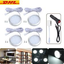 4× LED Beleuchtung Wohnwagen Deckenlicht Wohnmobil Lampe 12V 120° Aufbausport DE