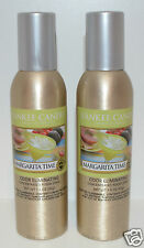 2 NEW YANKEE CANDLE MARGARITA TIME CONCENTRATED ROOM SPRAY PERFUME AIR FRESHENER