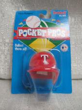 1997 Texas Rangers Riddell Pocket Pros Baseball Mini Helmet