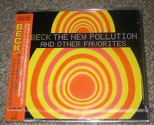 BECK Japan PROMO CD still SEALED obi USA ROCK The New Pollution JAPAN ONLY rare