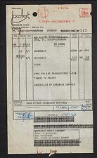 "COLMAR (68) DISTILLERIE / GUIGNOLET ""Ets. JACOBERT"" en 1954"