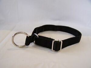 Cushion web alaskan style semi-slip collar Nickle