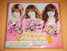 Original CD Autograph Orange Caramel Magic Girl Yesasia Special Pre Order 橙子焦糖